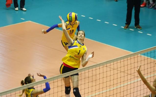 Волейболистките на Марица Пловдив източник: LAP.bg, Илиян Телкеджиев