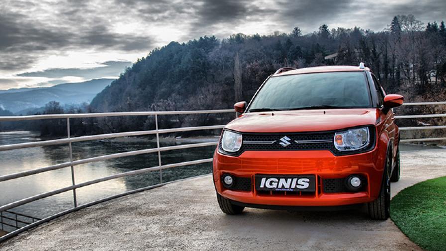 Suzuki Ignis е произведен в Япония и продължава да предлага впечатляващи офроуд способности