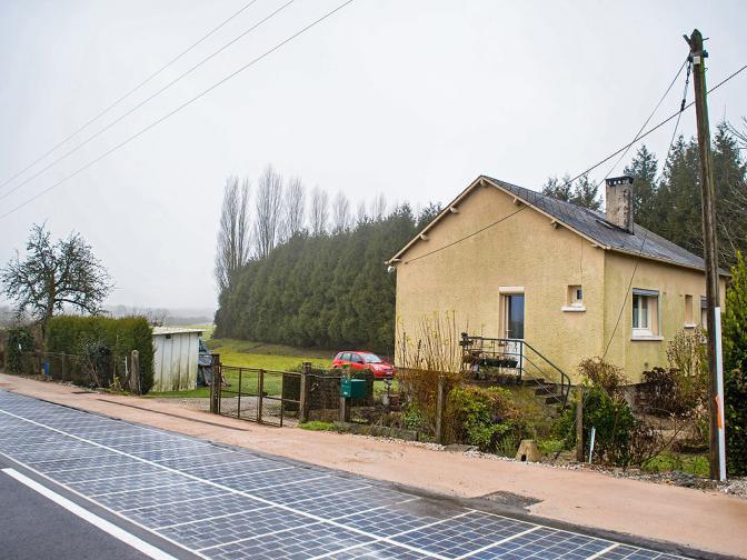 франция соларни панели
