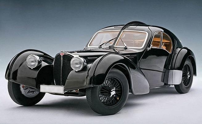 Bugatti Type-57 SC Atlantic 1934
