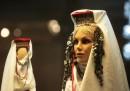 Красотата на женските народни носии в снимки
