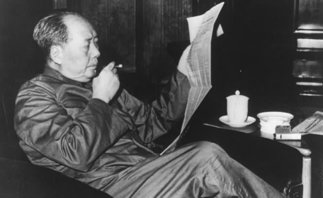 Последната снимка на първия лидер на Китайската народна република
