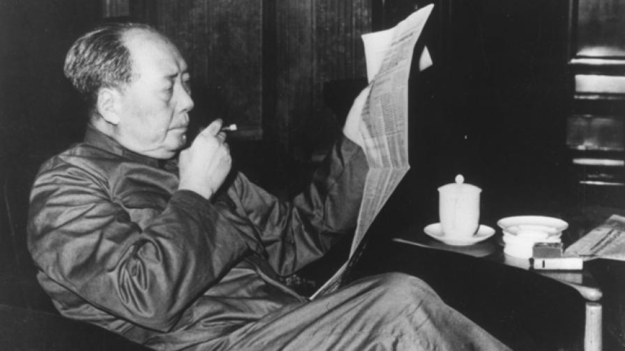 Последната снимка на първия лидер на КНР