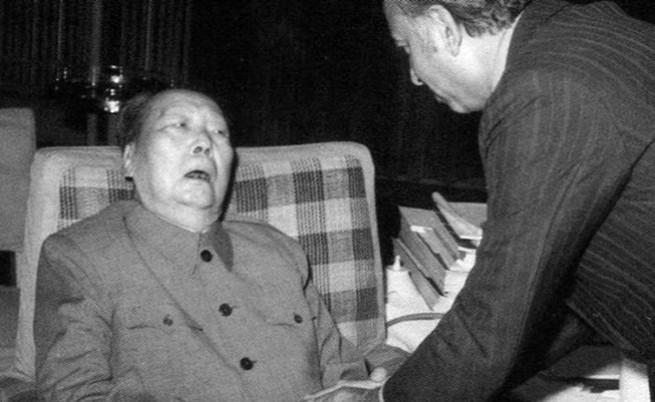Последната снимка на Мао Дзъдун, 27 май 1976 г.
