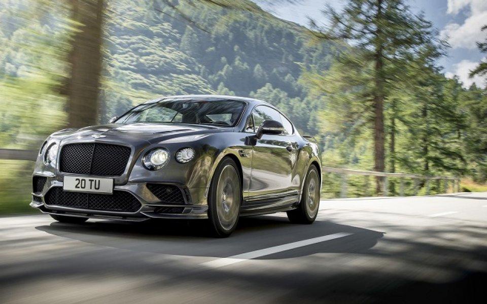 Bentley с най-бърз и най-мощен модел в историята на марката