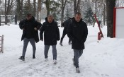Лошото време внесе промени в подготовката на ЦСКА