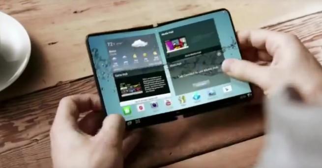 Вече няколко години Samsung работи по сгъваем смартфон. Компанията представи
