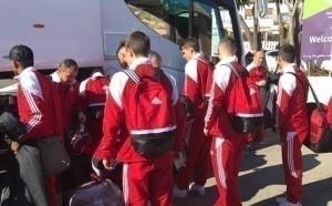 Отлично време посрещна ЦСКА в Испания