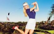 Гореща голфърка ви слага на прицел
