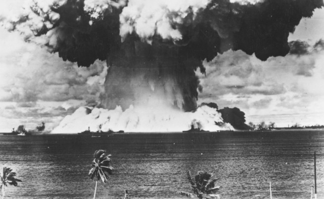 Ядрен тест на атола Бикини през 1946 г.