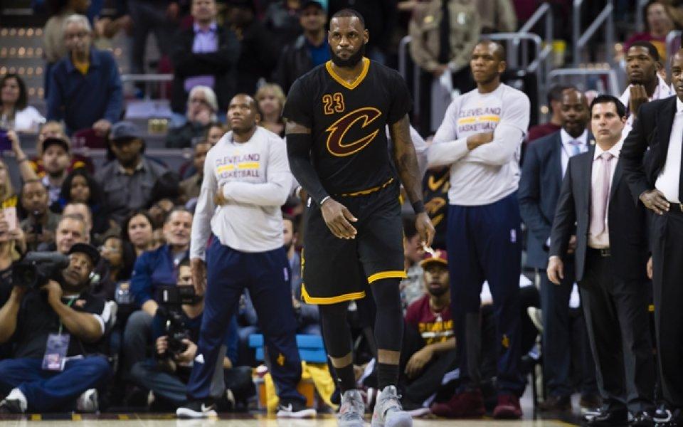 Кливланд бие в НБА, резултати