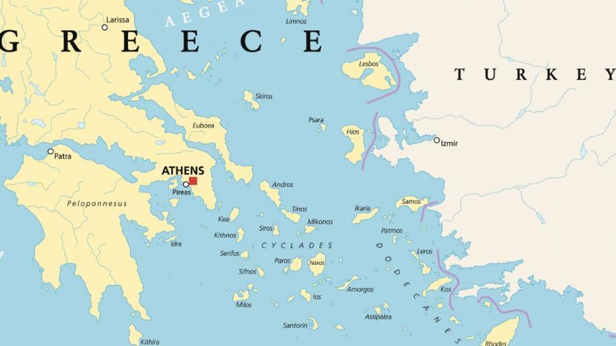 Турски военен кораб нахлу в гръцко Егейско море