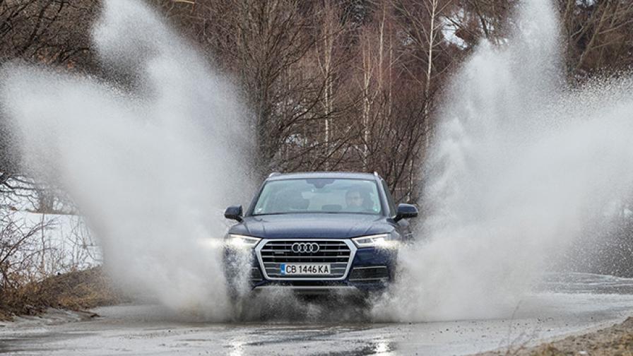 Златната среда за Audi Q5 (тест драйв)
