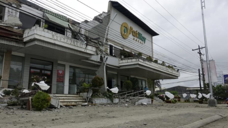 Жертви и стотици ранени след земетресение във Филипините
