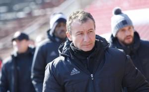 Наставникът на ЦСКА доволен от играта в атака