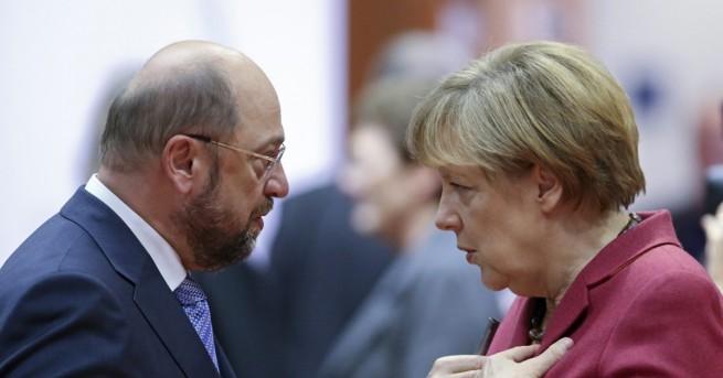 Вече сигурен разговор между двете големи партии в Германия може