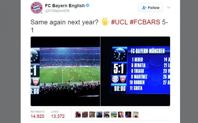 <strong> източник: twitter.com/FCBayernEN</strong>