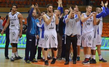 Академик Пловдив победи Берое в българското дерби на Балканската лига