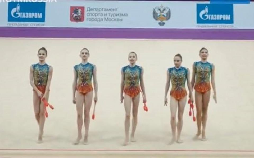 Младите ни гимнастички изостават от Русия и Израел в Москва