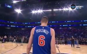 Високият Порзингис спечели състезанието по умения в НБА