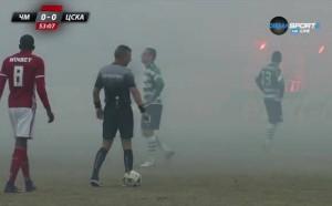 Мощни димки спряха за кратко Черно море – ЦСКА