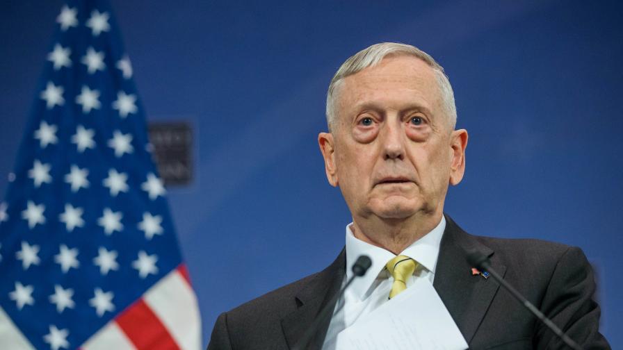 <p>Министърът на отбраната на САЩ подаде оставка заради Тръмп</p>