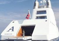 Задържаха яхта на руски олигарх, най-голямата в света