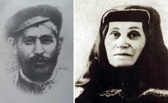 майката и бащата на Сталин