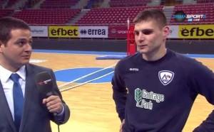Симеон Александров: Надявам се да отстраним ЦСКА за Купата