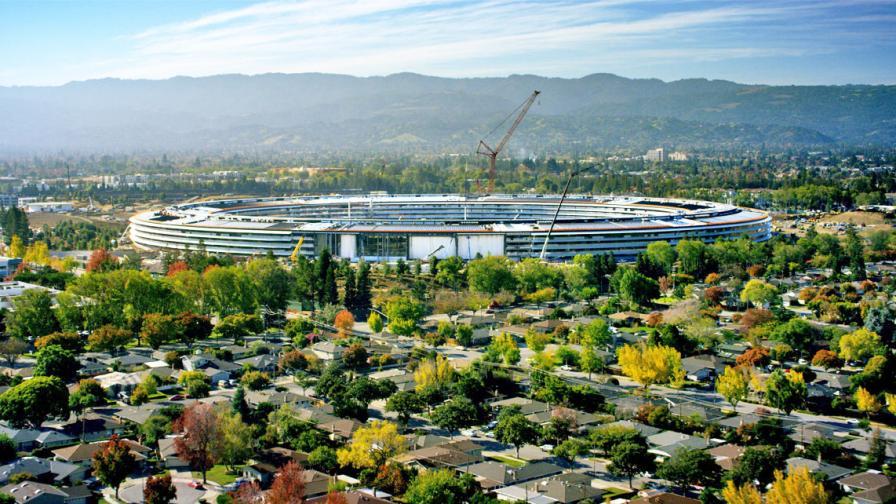 Новата централа на Apple