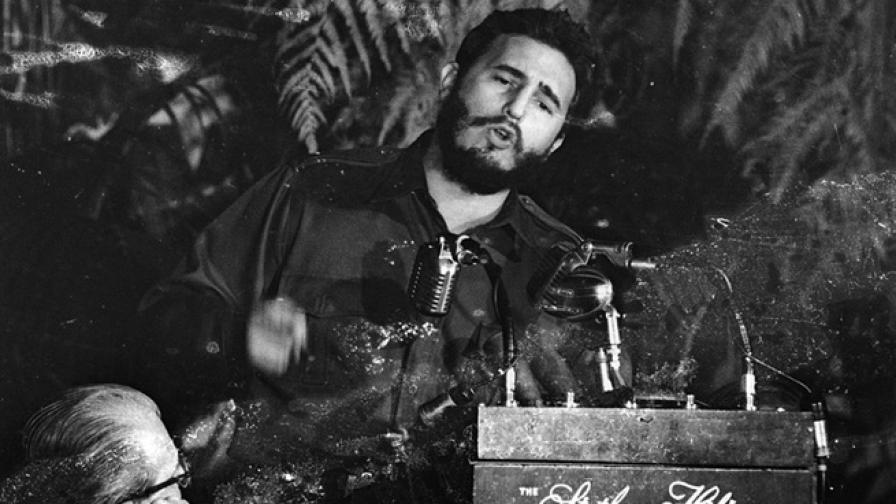 Първото посещение на Кастро в САЩ след встъпването му в длъжност