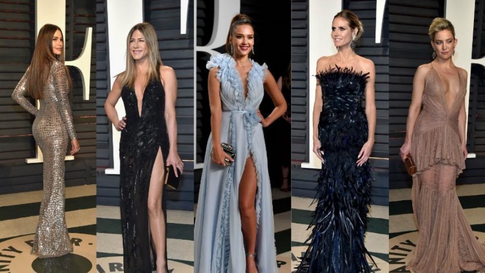 Какви ги вършиха звездите на партито след Оскарите