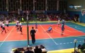 Какво направи волейболният Левски?