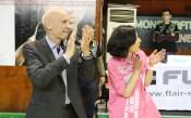 Награждаването на БК Хасково след триумфа в турнира за Купата на България<strong> източник: LAP.bg, Христо Тотев</strong>
