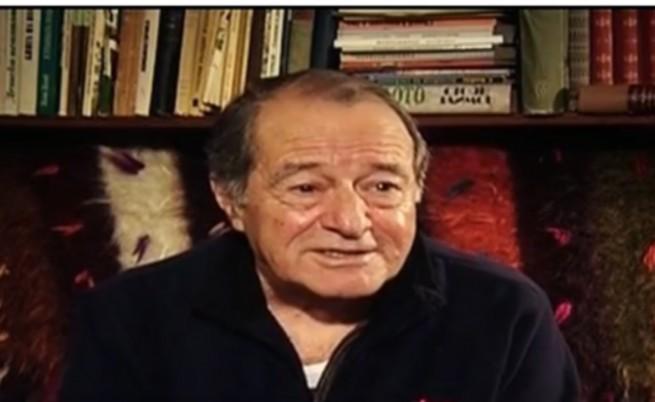 Георги Данаилов преди година, когато стана на 80 години