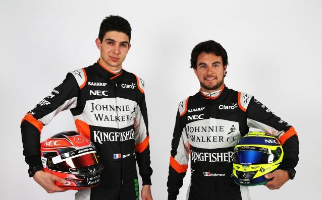 Естебан Окон и Серхио Перес<strong> източник: Gulliver/Getty Images</strong>