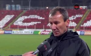 Стамен Белчев критичен към играчите на ЦСКА