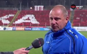 Джамбазки: Мисля, че ситуациите, при които ЦСКА поведе, са малко дискусионни