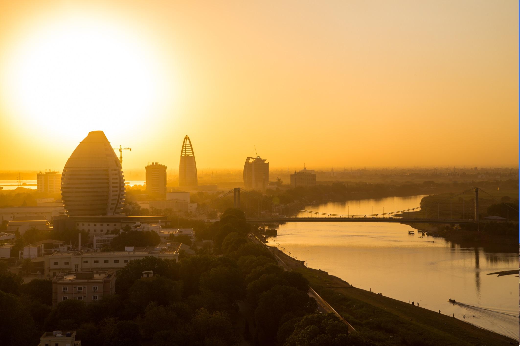 Залез над столицата Хартум