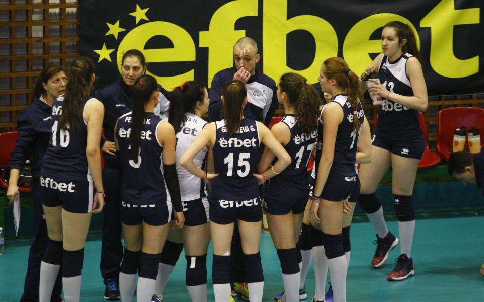 Волейболистките на Левски с втори пореден успех
