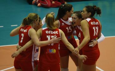 ЦСКА с експресна победа във волейболната лига