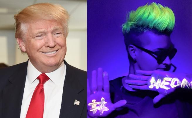 Тръмп върза тенекия на Меркел, нова мода: светещи коси и още...