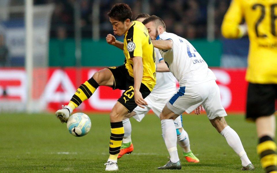 Дортмунд сложи край на мечтата на Лоте, уреди си класика с Байерн
