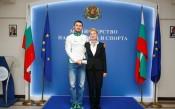 Спортният министър награди Беломъжев за световната титла
