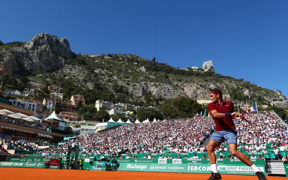 Без Федерер на Мастърса в Монте Карло