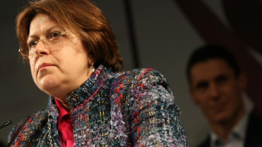 Татяна Дончева: Че сме в парламента - сме, не се отпускайте до неделя