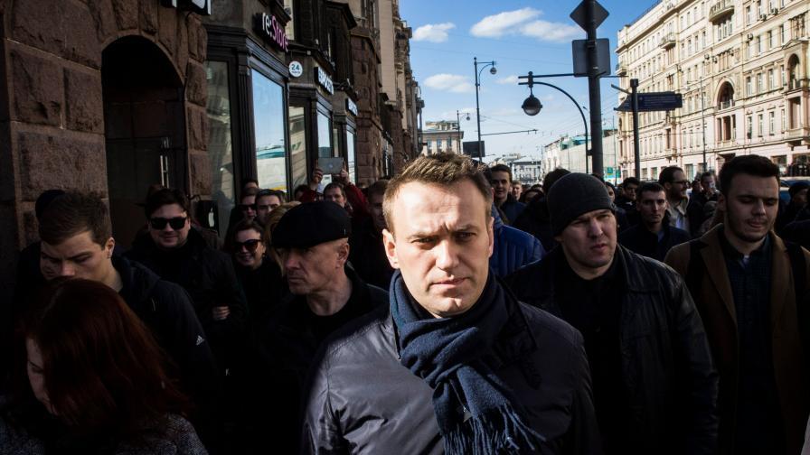 Не допуснаха Навални да конкурира Путин