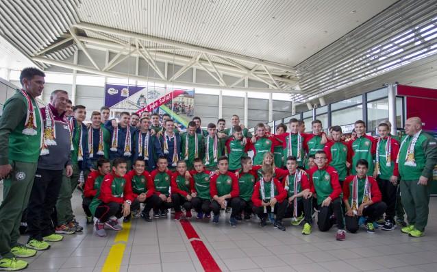 Юношески национален тим по футбол до 19 години източник: LAP.bg, Пламен Кодров