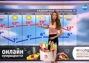Прогноза за времето (30.03.2017 - централна емисия)