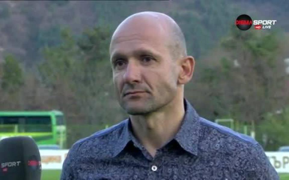 Радуканов посочи фаворит в битката с Черно море